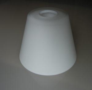 klosz szklany biały