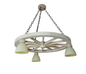 Lampa KD3-E z kloszami.