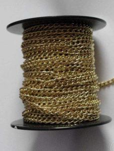 Łańcuszek zegarkowy złoty