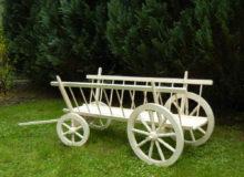 Wóz drewniany drabiniasty