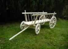 Wóz drewniany drabiniasty..